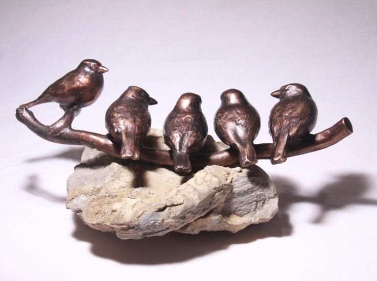 Bronzen beeld in opdracht