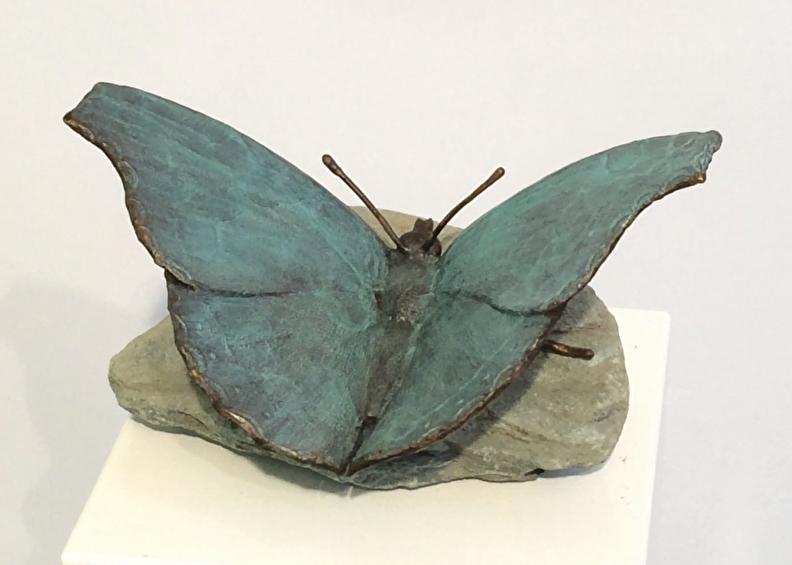 Gedenkbeeld - vlinder