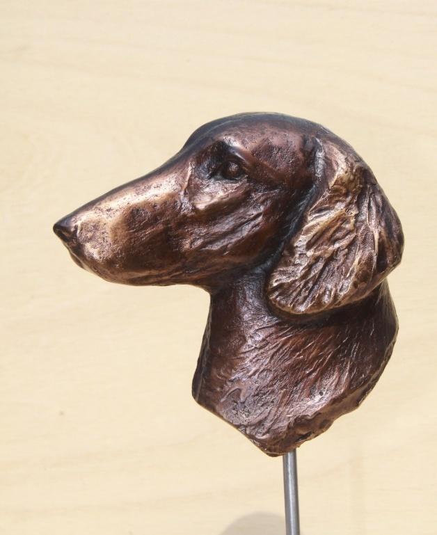 Bronzen beeld - Flatcoated retriever.jpg