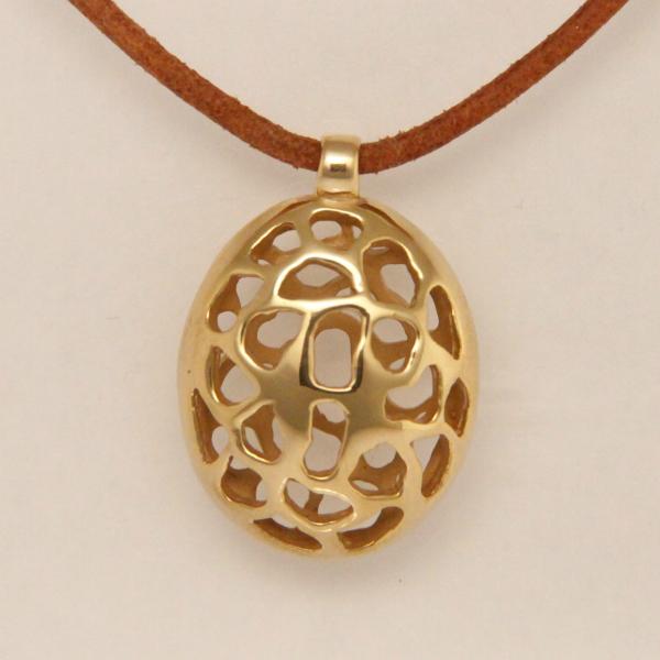 Hanger, verguld brons, collectie Free Spirit - cadeau