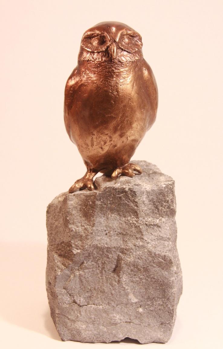Bronzen beeld uil - relatiegeschenk of cadeau