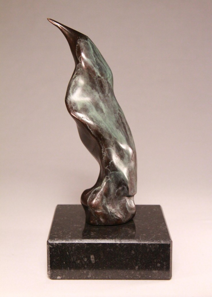 Bronzen relatiegeschenk - wijsheid