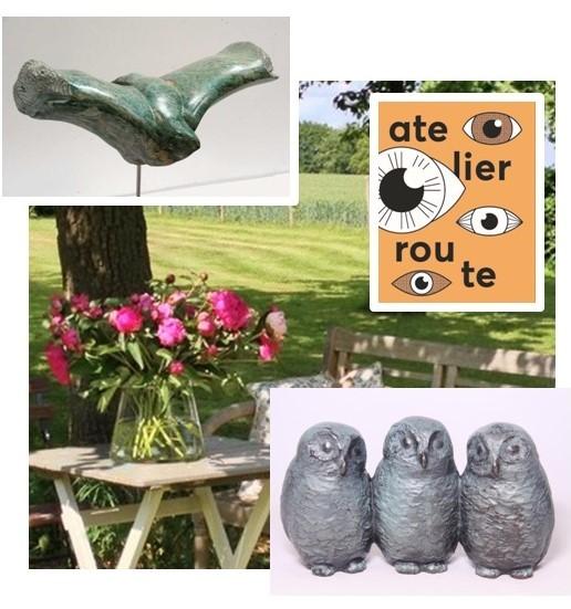 Atelierweekend kunst bronzen beelden