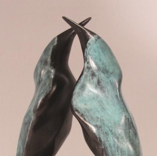 Bronzen beeld cadeau huwelijk