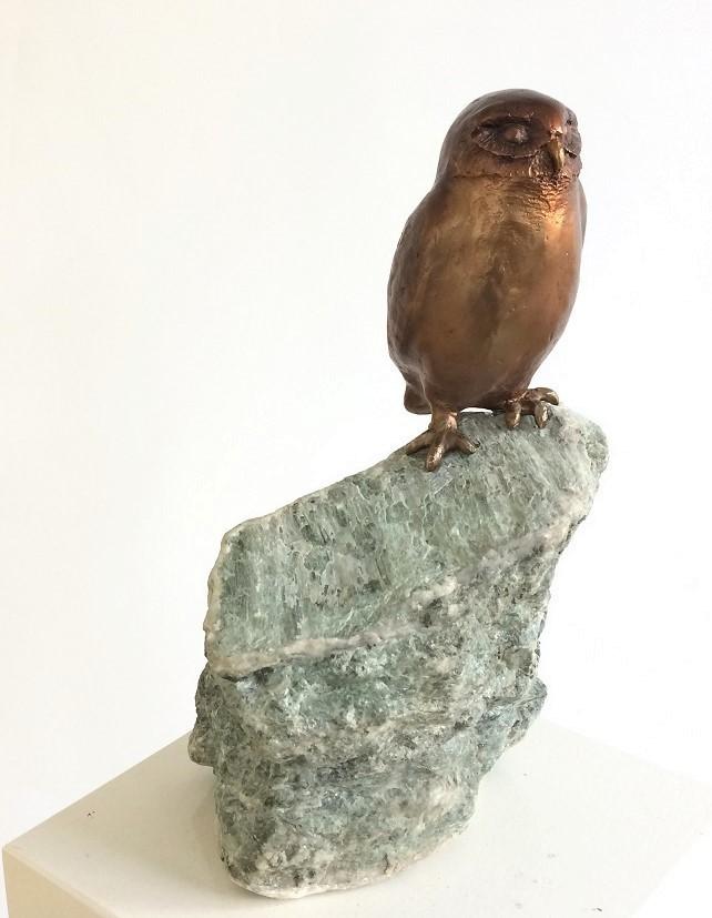 Bronzen beeld voor bachelor of master