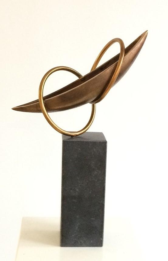 bronzen beelden liefde