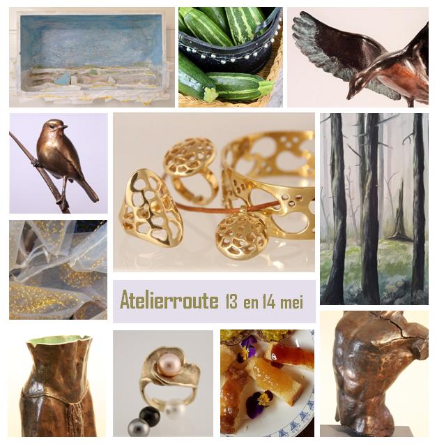 Inspiratiebrief galerie en atelier bronzen beelden