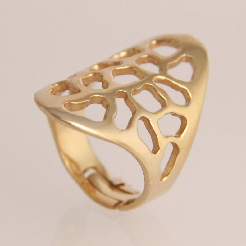 sieraden brons, het nieuwe goud - ring met parel