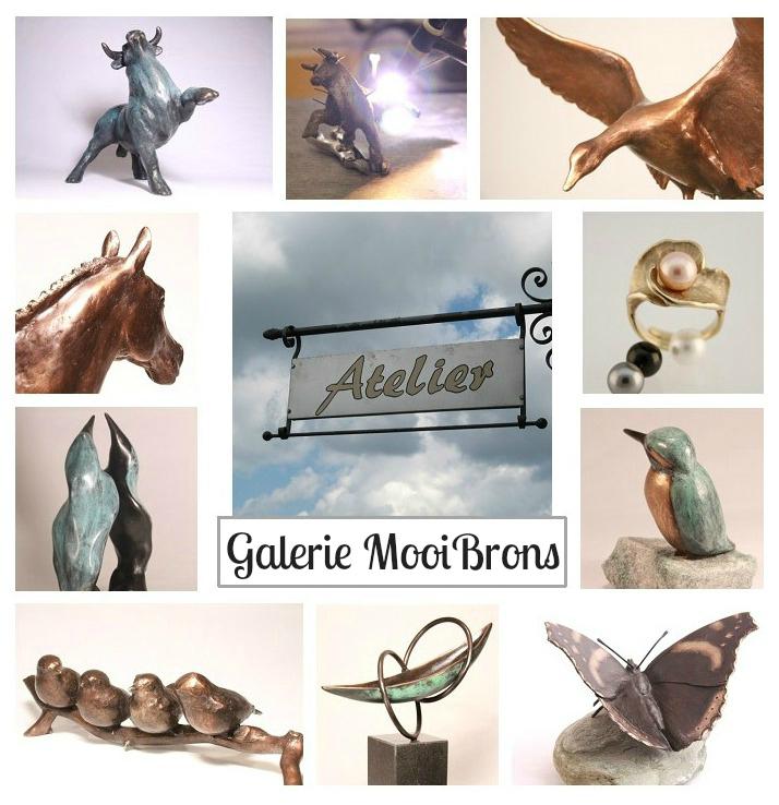 bezoek onze galerie - bronzen beelden