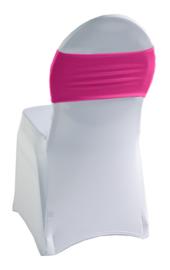 Decoratieband voor rugleuning recht Pink