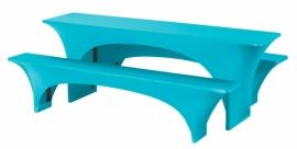 Bankethoezenset Fortune Turquoise