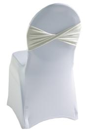 Decoratieband voor rugleuning gedraaid Crème