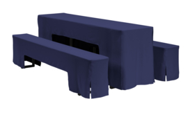 Bankethoezenset Arcade Navyblauw