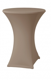 Statafelhoes Samba Taupe met topcover