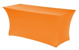 Tafelhoes Symposium 183 x 76 cm Oranje met topcover