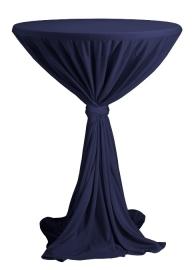 Statafelhoes Party Navyblauw ø80-90 cm