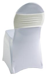 Decoratieband voor rugleuning recht Crème