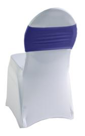 Decoratieband voor rugleuning recht Blauw