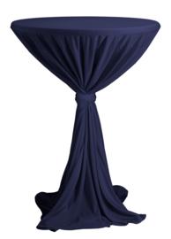 Statafelhoes Party Navyblauw ø70 cm