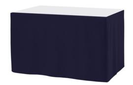Tafelrok Ongeplooid 73 cm hoog navyblauw