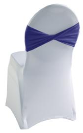 Decoratieband voor rugleuning gedraaid Blauw