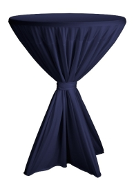 Statafelhoes Fiesta Navyblauw ø80-90 cm
