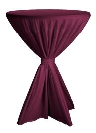Statafelhoes Fiesta Bordeaux ø80-90 cm