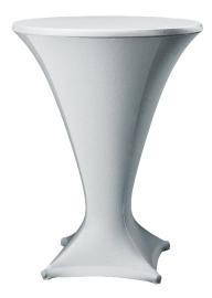 Statafelhoes Cocktail zilvergrijs