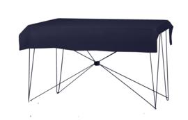 Tafelkleed 190 x 130 cm. Poly Jersey Navyblauw
