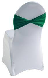 Decoratieband voor rugleuning gedraaid Groen