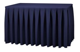 Combirok Boxpleat 183 x 76 cm Navyblauw