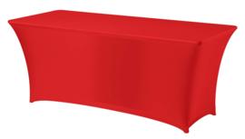 Tafelhoes Symposium 183 x 76 cm Rood