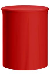 Statafelhoes Salsa Rood ø85 cm