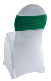 Decoratieband voor rugleuning recht Groen