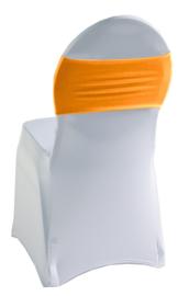 Decoratieband voor rugleuning recht Oranje