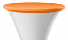 Statafelhoes Samba Oranje met topcover