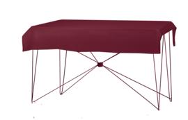 Tafelkleed 190 x 130 cm. Poly Jersey Bordeaux