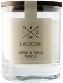 Geurkaars Wood & Tonka