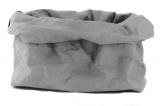 Paperbag / opberger grijs M