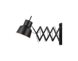 Wandlamp  zwart Belfast W/B