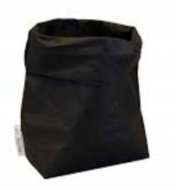 Paperbag / opberger zwart M