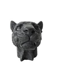 Kandelaar luipaard zwart