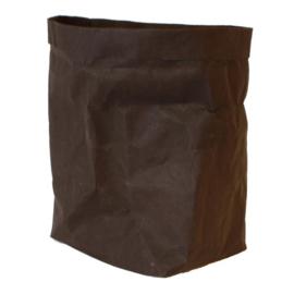 Paperbag / opberger L zwart