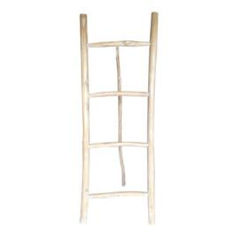 Decoratie ladder hout Kayo L