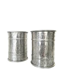 Kaarsen standaard Zilver S
