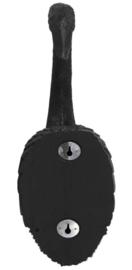 Wandlamp kraanvogel zwart