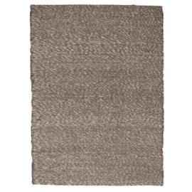 Vloerkleed Stone grijs / wit XL