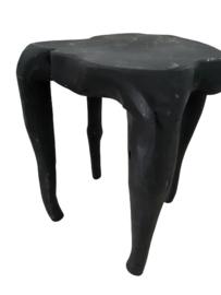 Kruk zwart grillig