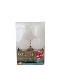 Cotton ball lights wit 10 st.