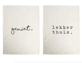Theedoeken set / 2